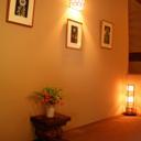 ギャラリー風の館内廊下