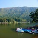 ハート型の湖・北竜湖