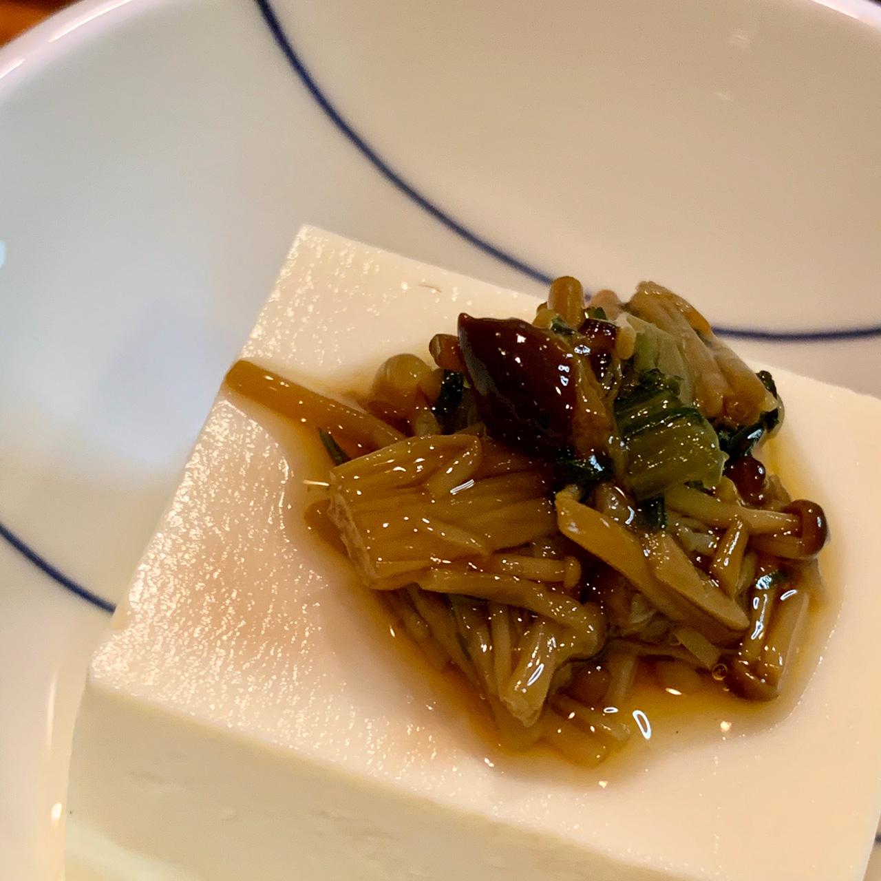 醤油豆豆腐