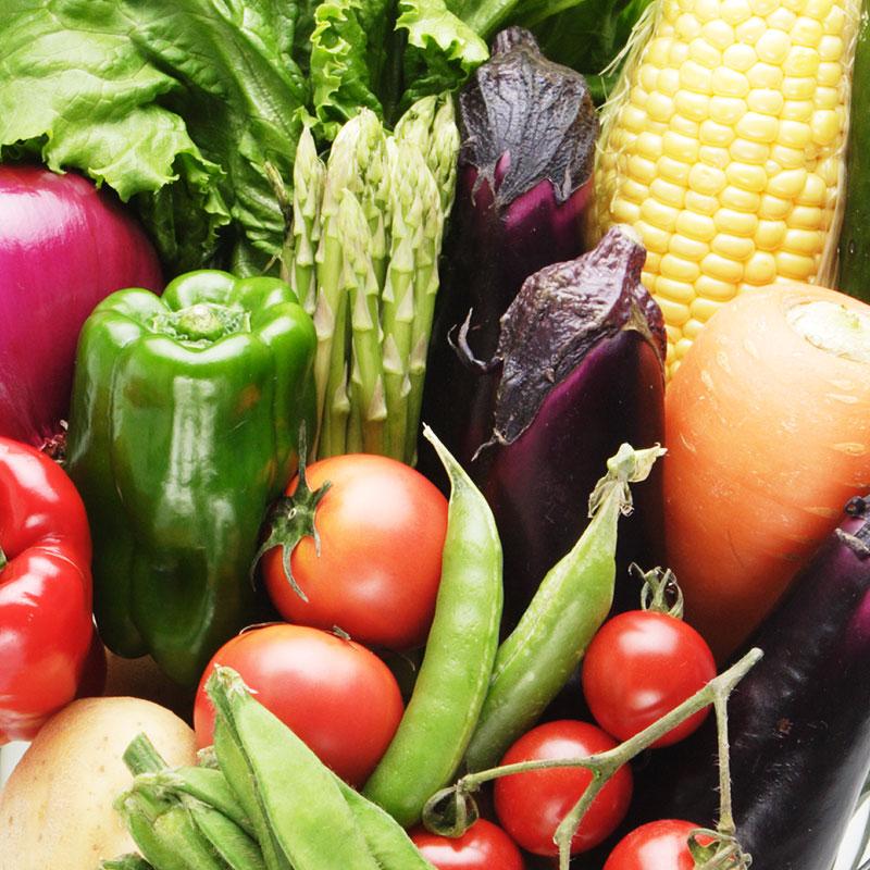 信州産夏野菜