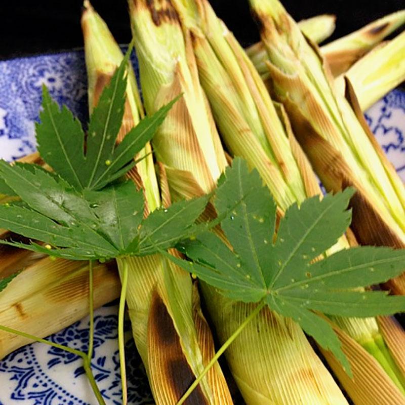 焼き根曲り竹
