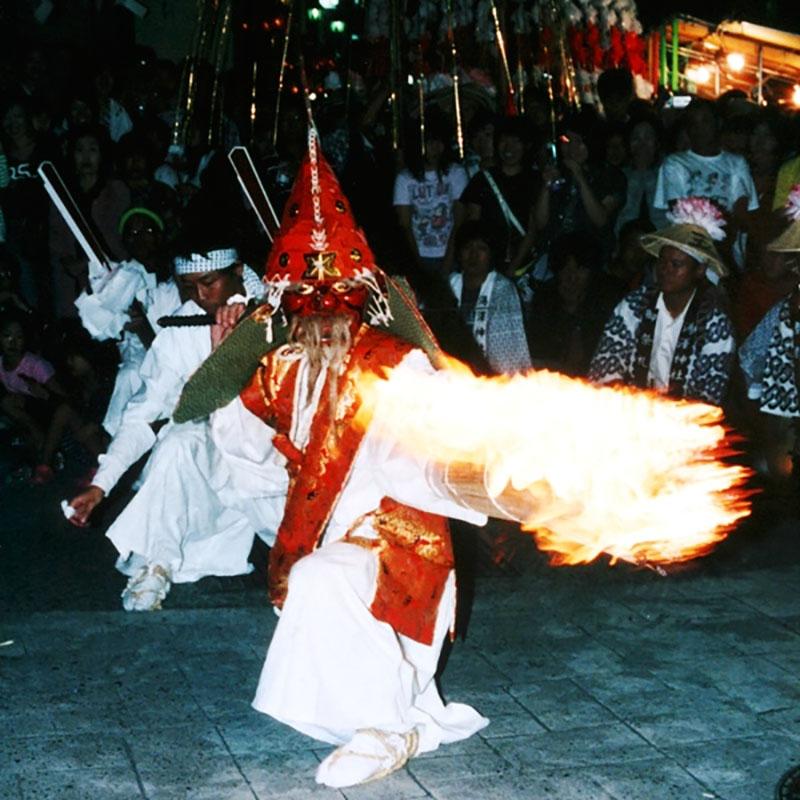 湯澤神社・灯籠祭