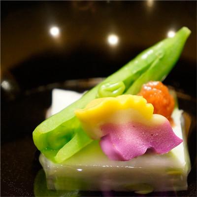 季節の味覚、旬菜会席料理、出来たての美味しさをそのままに